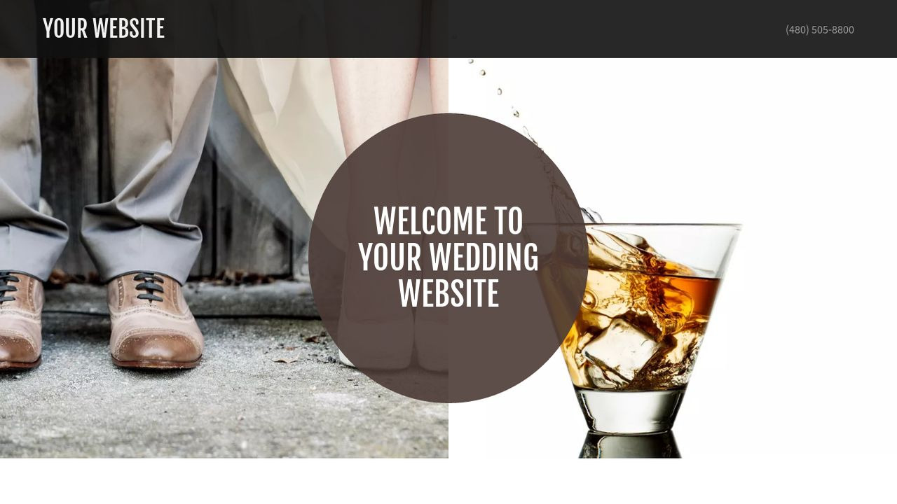 Wedding Website: Example 9