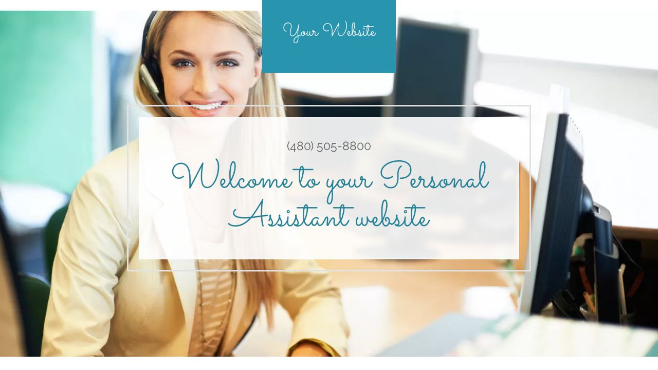 Personal Assistant Website Templates Godaddy