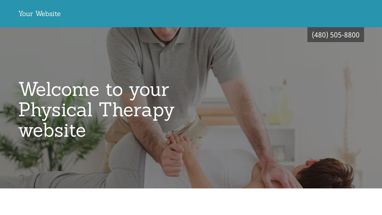 Physical Therapy Website Templates | GoDaddy