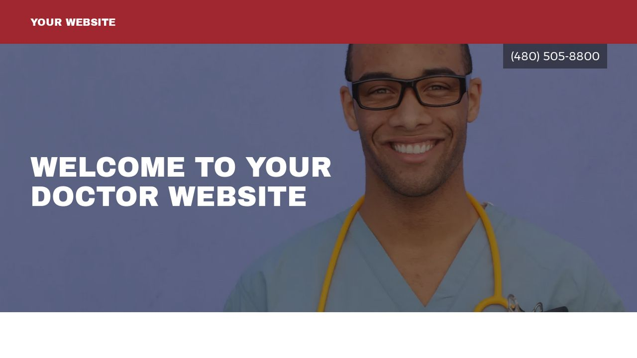 Doctor Website Templates   GoDaddy