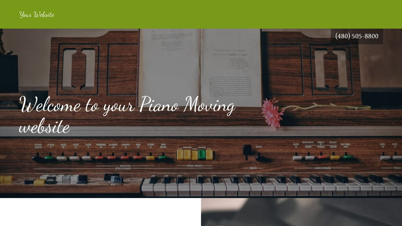 example 7 piano moving website template godaddy. Black Bedroom Furniture Sets. Home Design Ideas