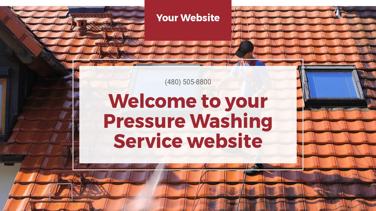 Pressure Washing Service Website: Example 6