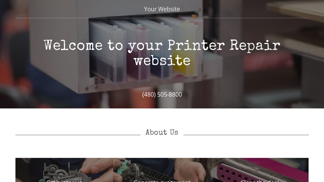 Printers Website Templates Choice Image - Template Design Ideas