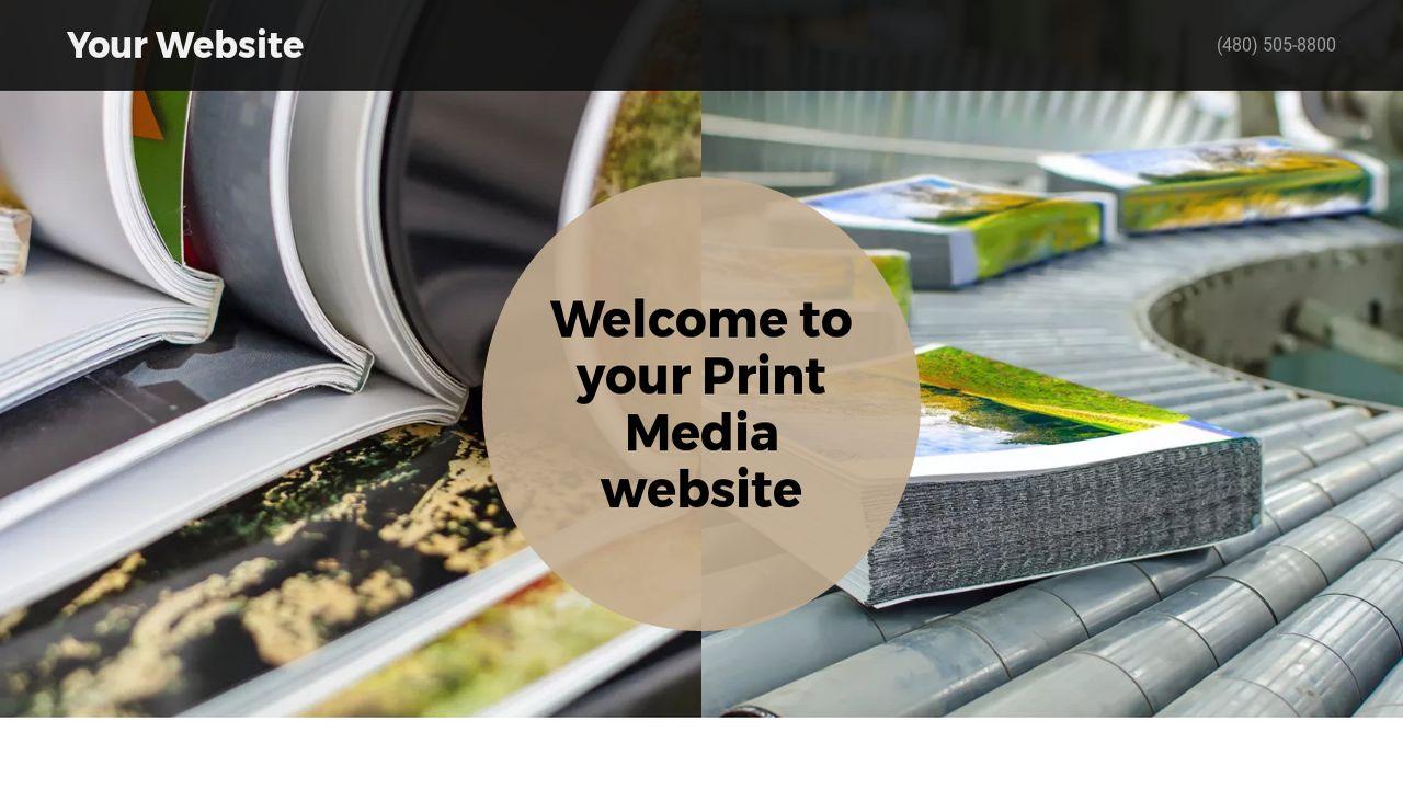 Print media website templates godaddy print media example 1 pronofoot35fo Choice Image