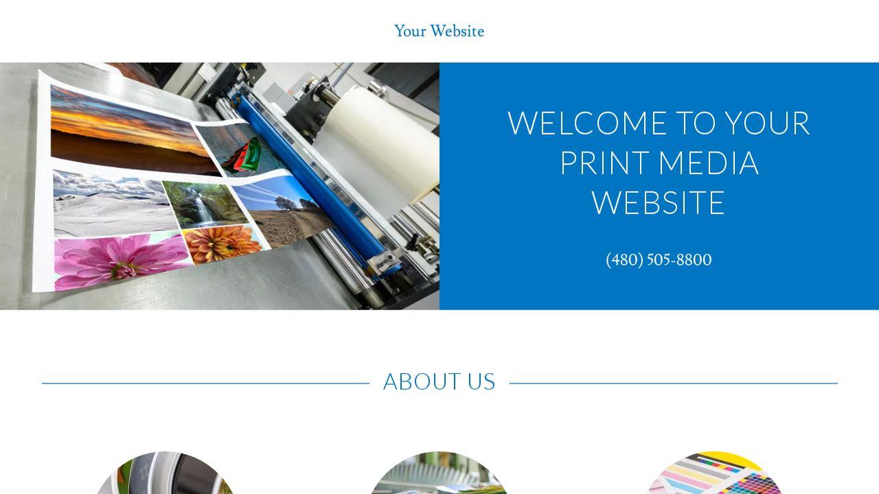 Print media website templates godaddy print media example 14 pronofoot35fo Choice Image