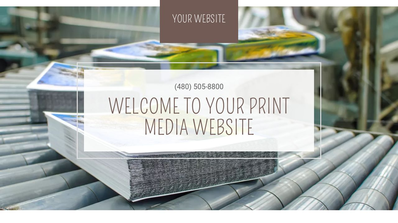 Print media website templates godaddy print media example 4 pronofoot35fo Choice Image