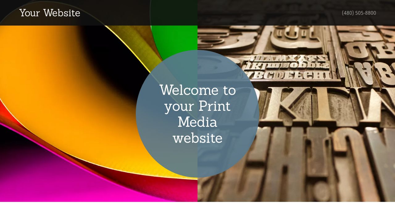 Print media website templates godaddy print media example 8 pronofoot35fo Choice Image