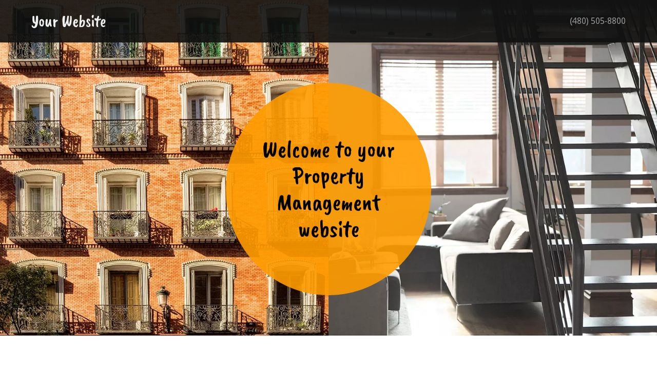 Property Management Website: Example 12
