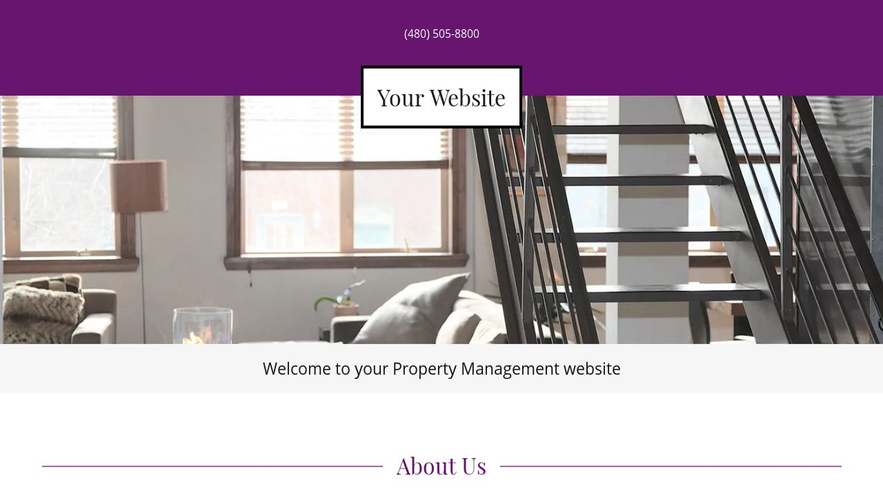 Property Management Website: Example 17