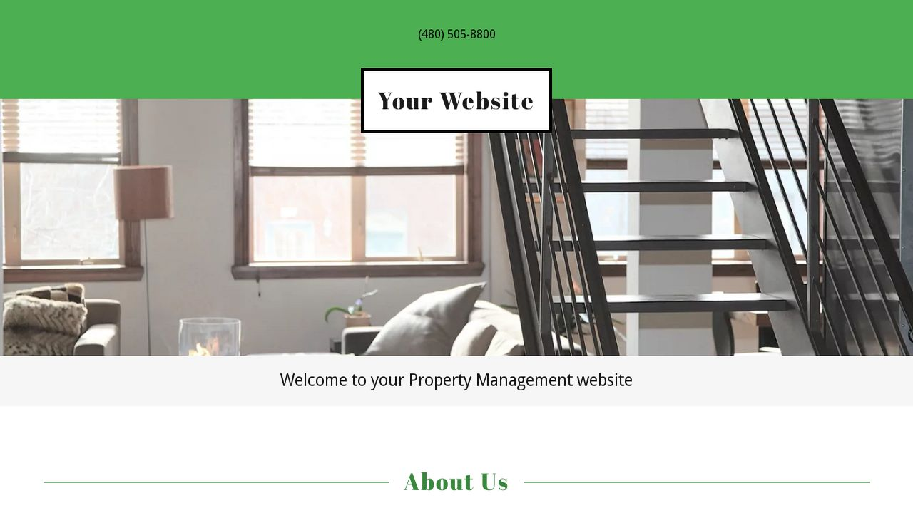 Property Management Website: Example 3