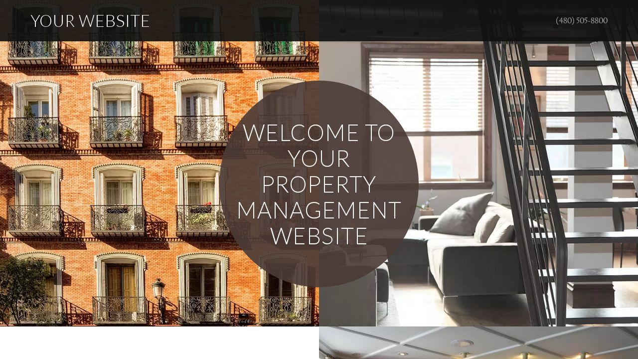 Property Management Website: Example 5