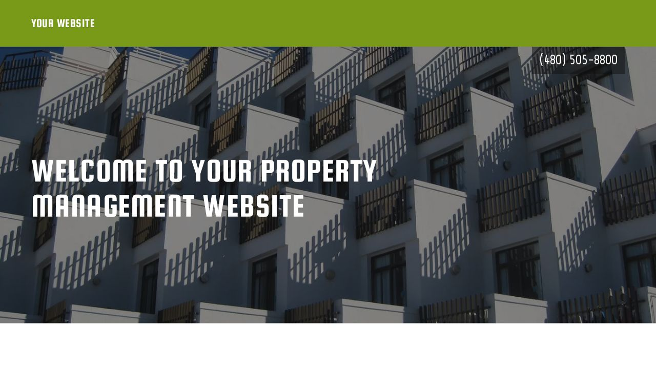 Property Management Website: Example 7