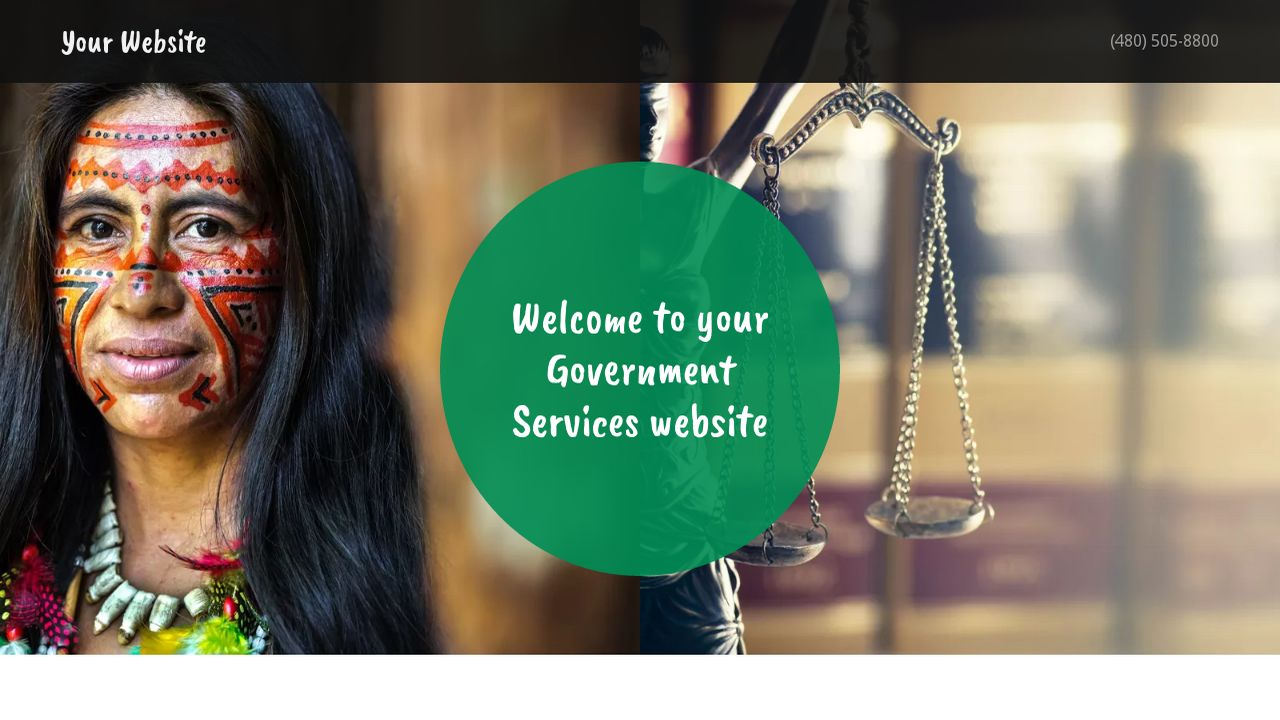 Government Services Website: Example 13