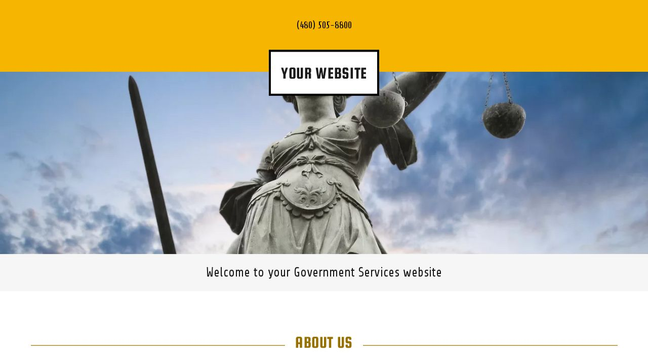 Government Services Website: Example 14