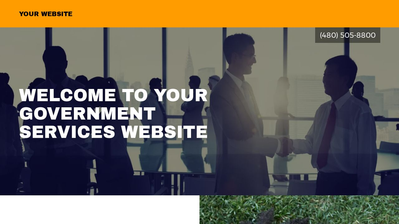 Government Services Website: Example 17