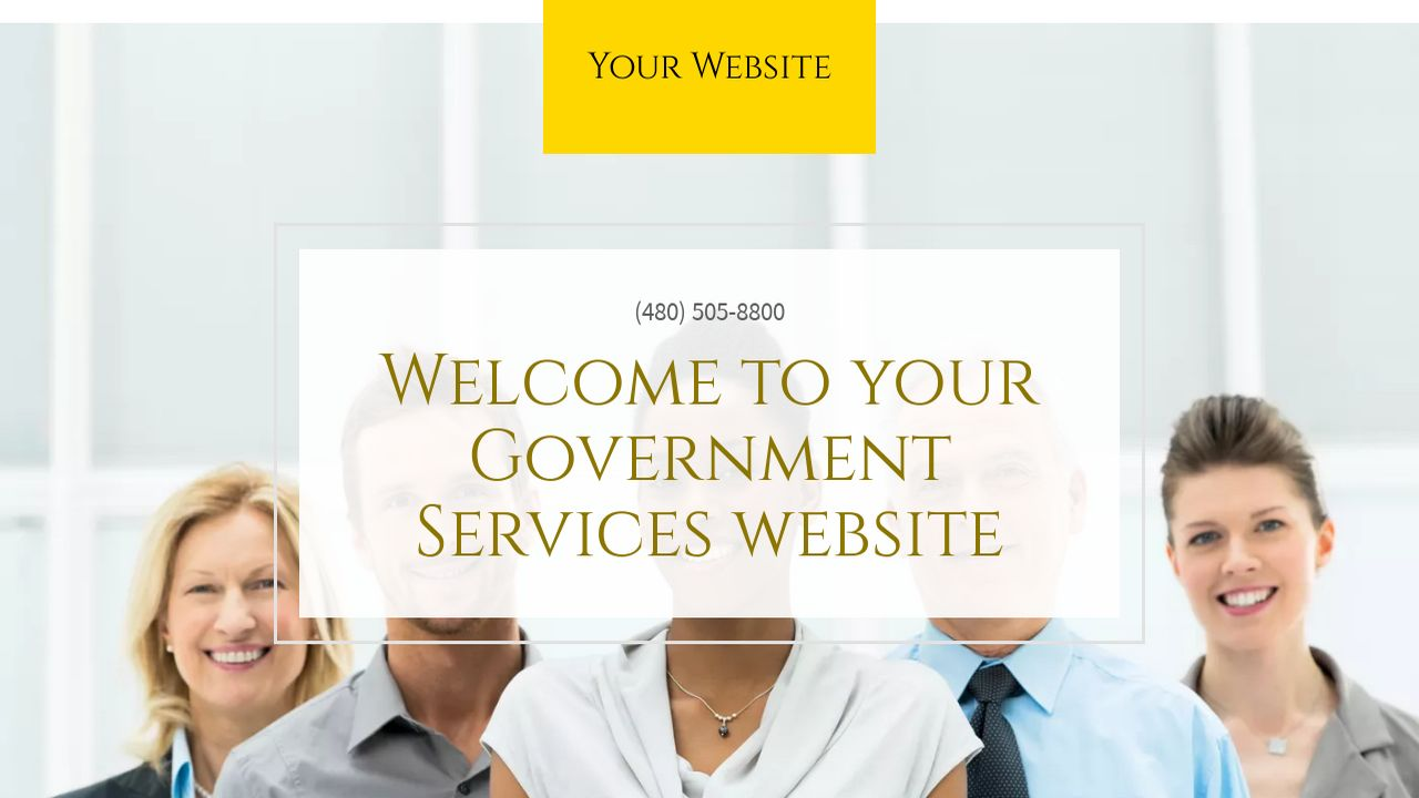 Government Services Website: Example 18