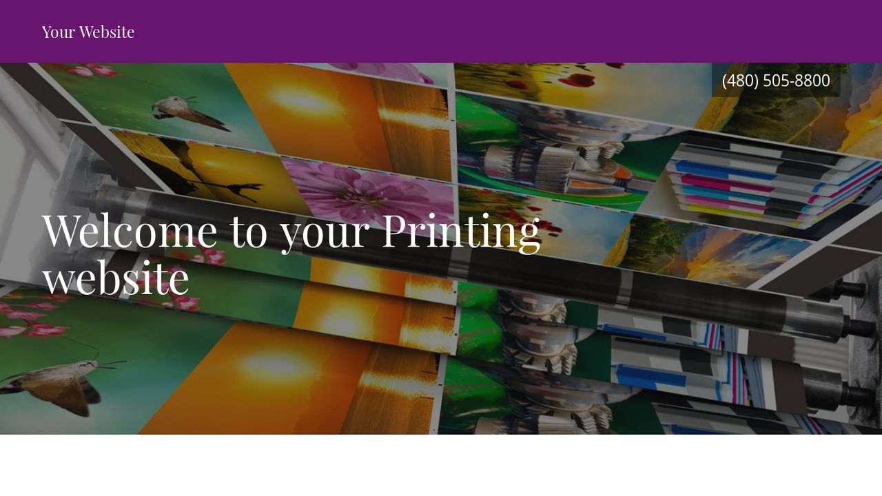 Printing Website: Example 13