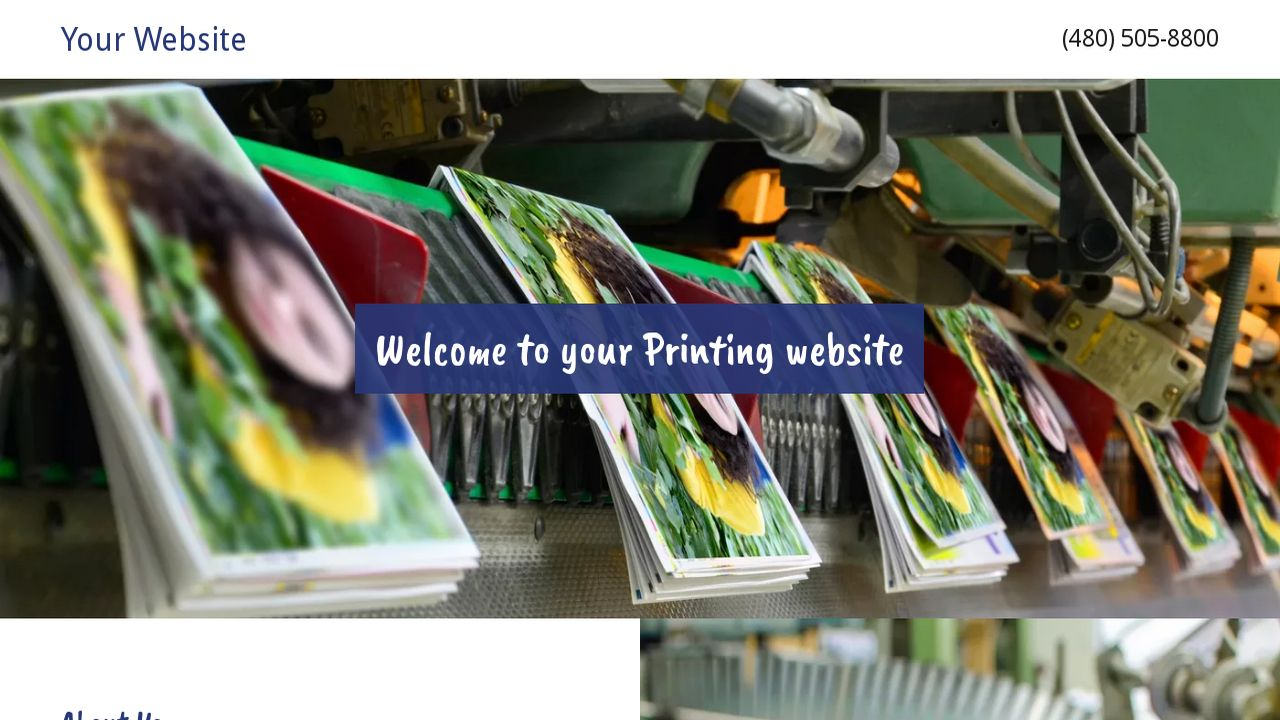 Printing Website: Example 15