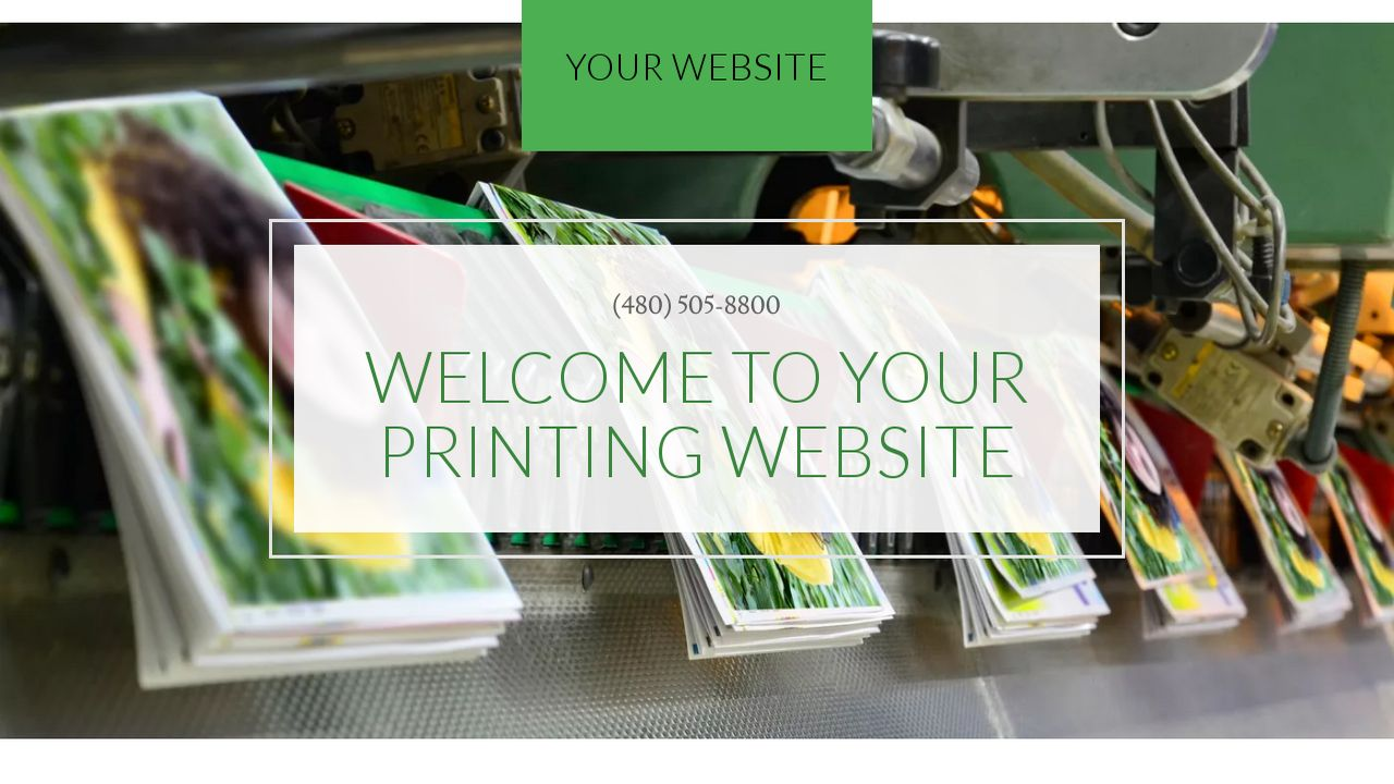 Printing Website: Example 2