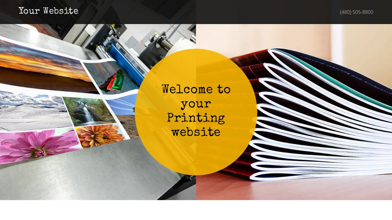 Printing Website: Example 4