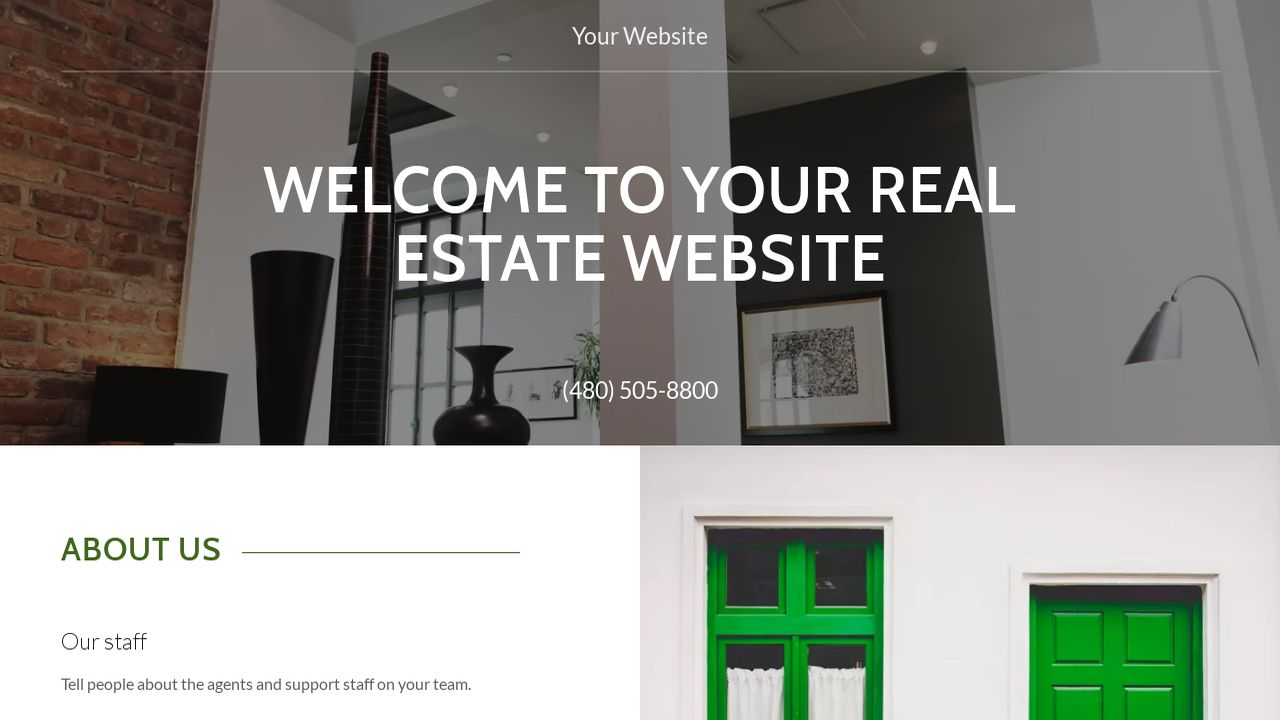 Real Estate Website: Example 10