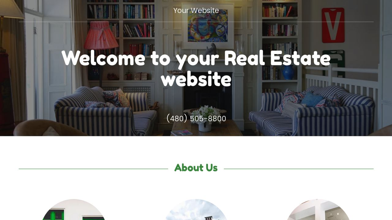 Real Estate Website: Example 17