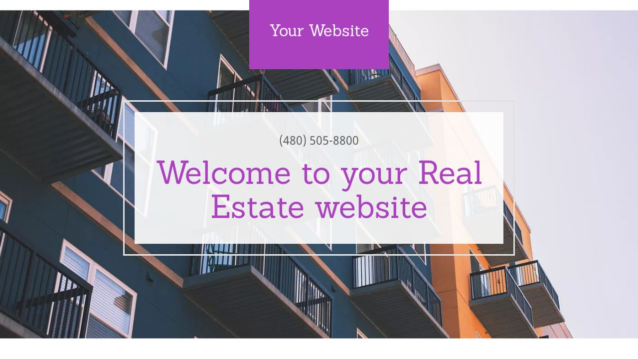 Real Estate Website: Example 18