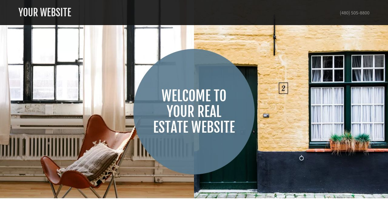 Real Estate Website: Example 2