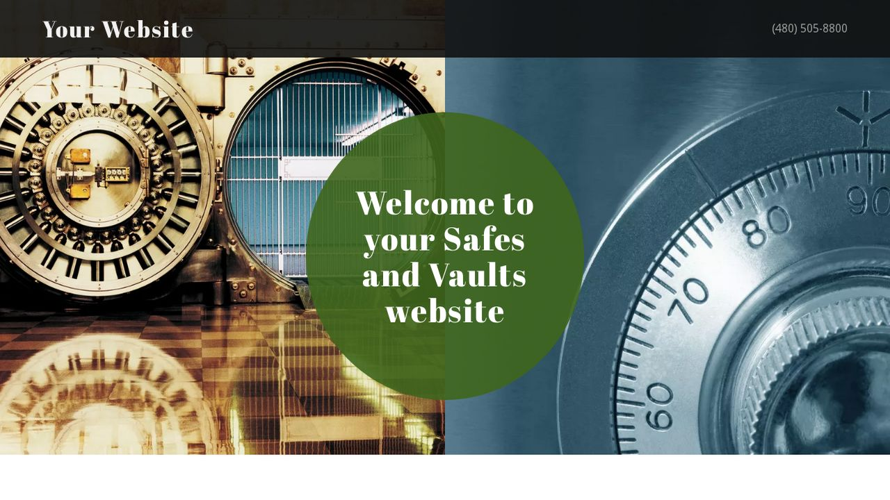 Safes and Vaults Website: Example 6