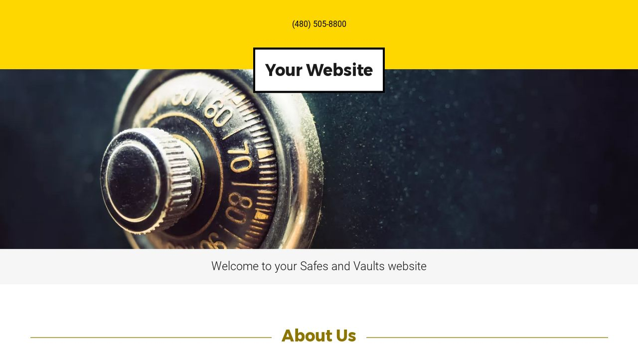 Safes and Vaults Website: Example 8