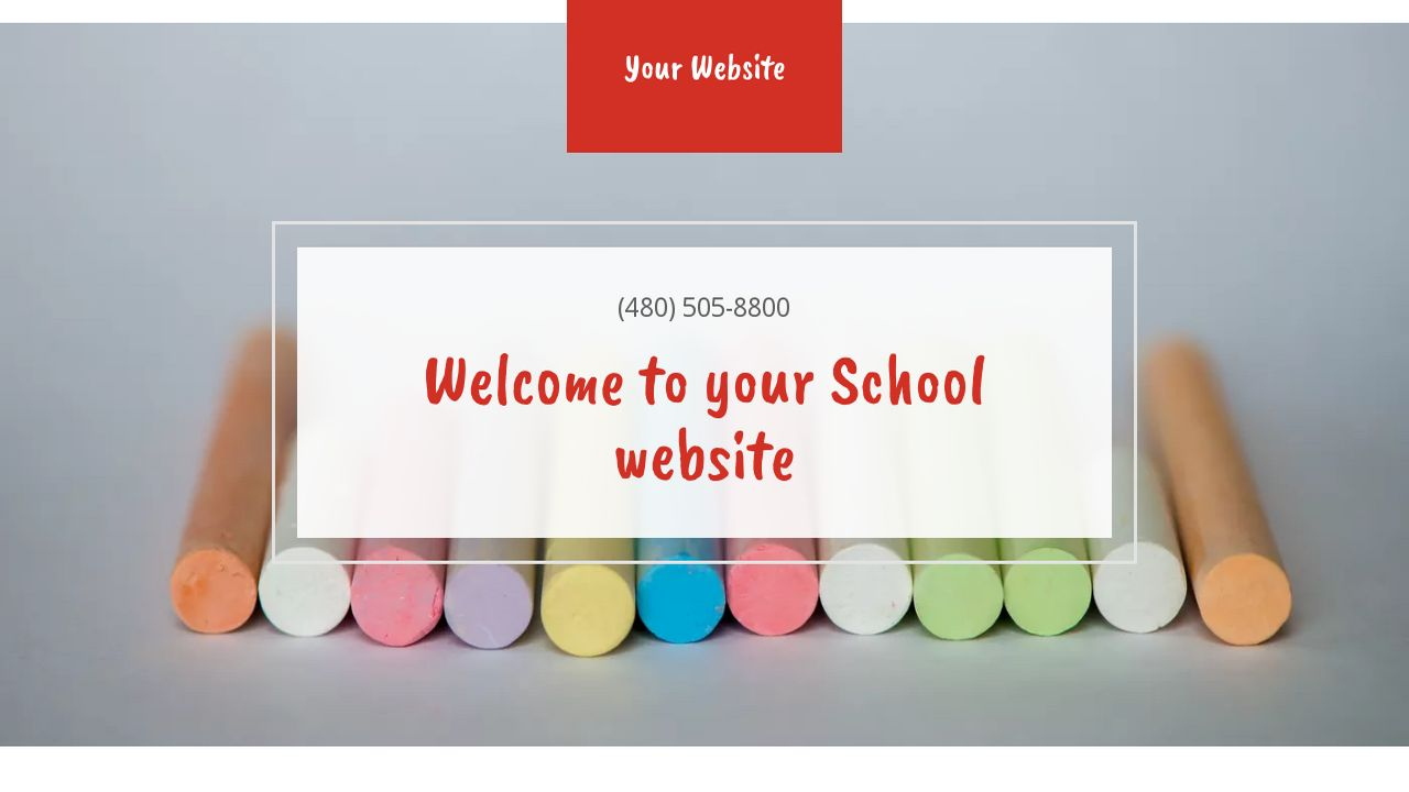 School website templates godaddy school example 12 pronofoot35fo Image collections