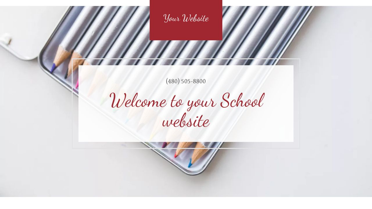 School Website: Example 5