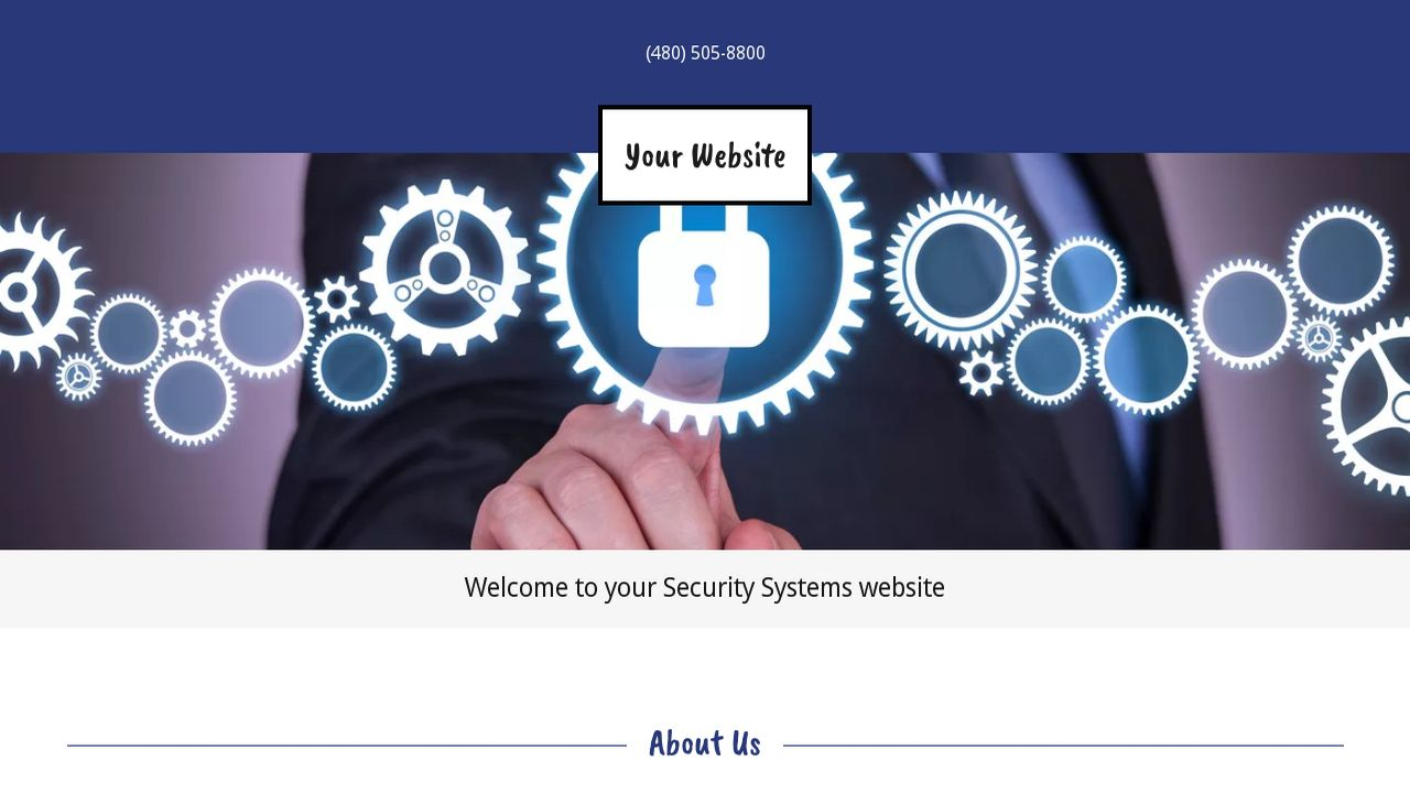 Security Systems Website: Example 14