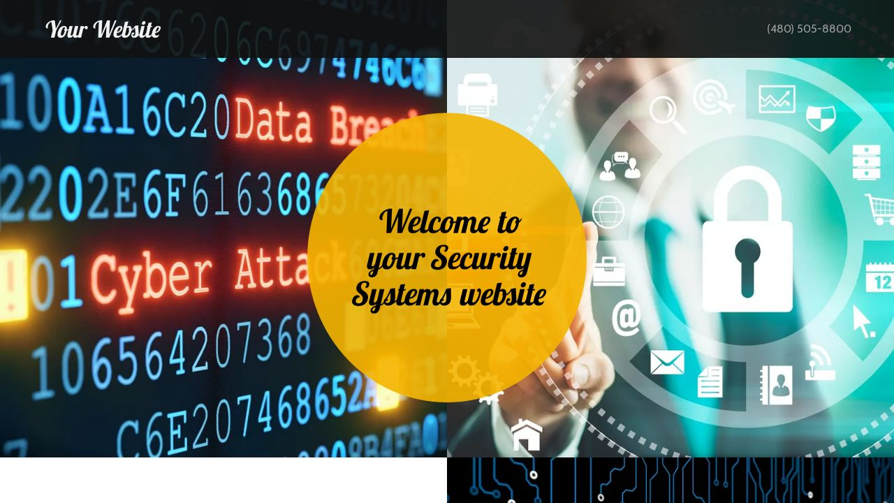 Security Systems Website: Example 16