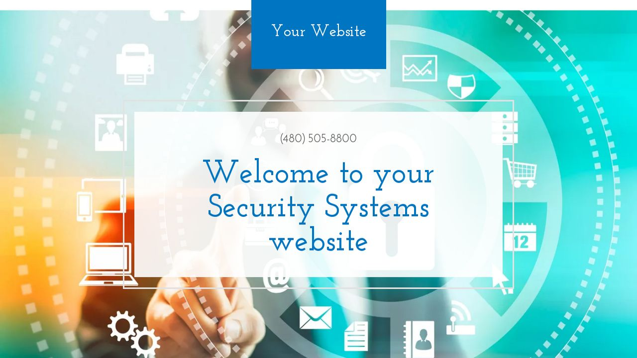 Security Systems Website: Example 4