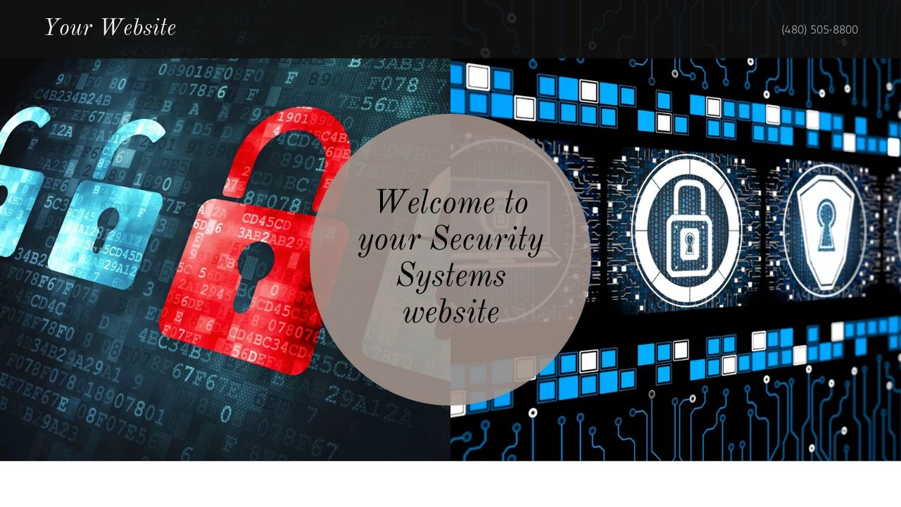 Security Systems Website: Example 9