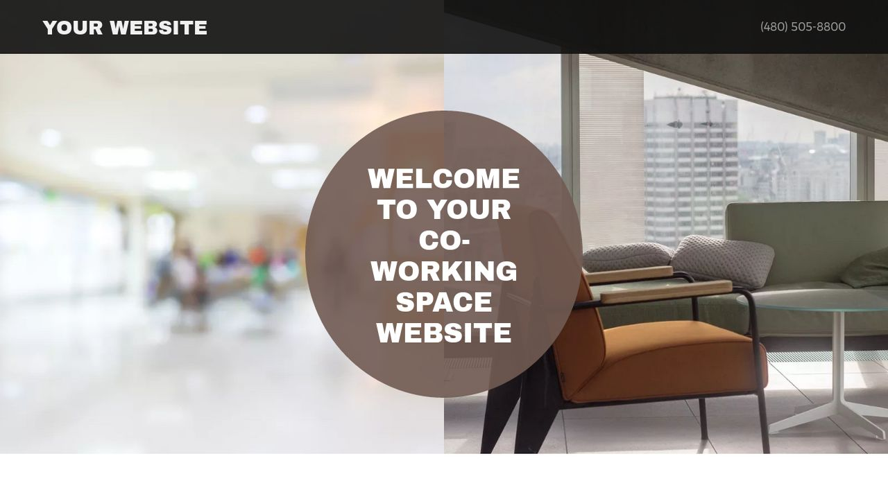 Co-Working Space Website: Example 16