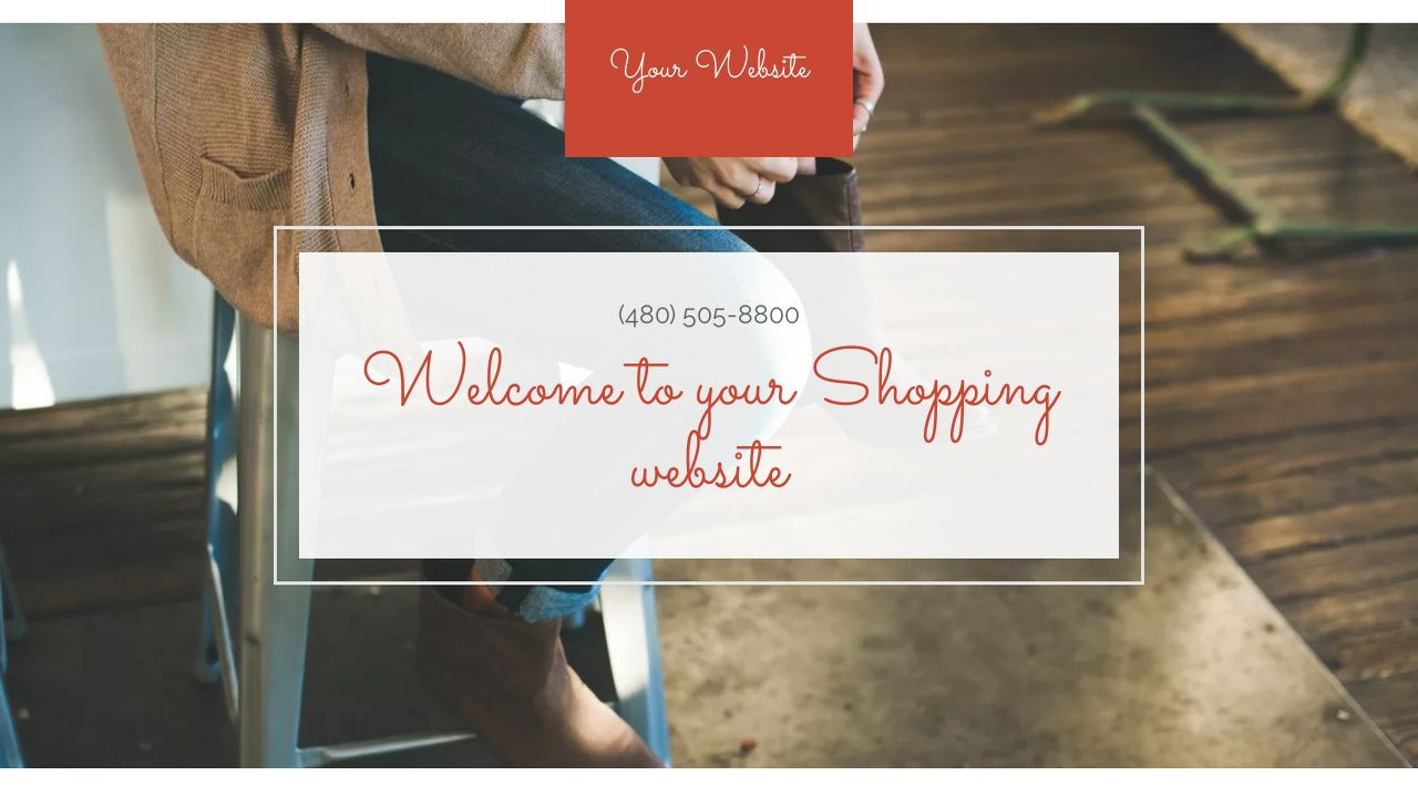 Shopping Website: Example 12
