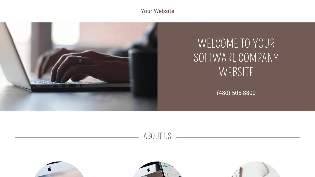 Software Company Website Templates | GoDaddy