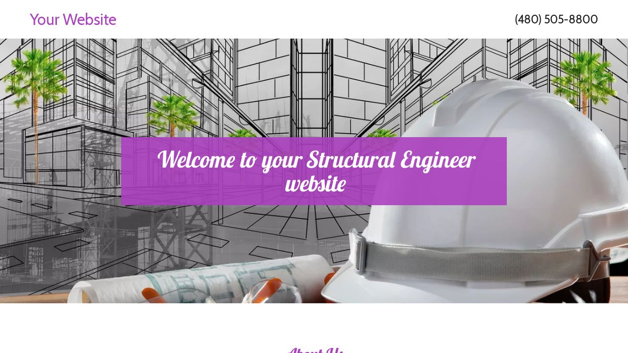 Structural Engineer Website Templates | GoDaddy