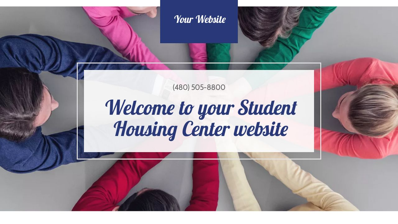 Student Housing Center Website: Example 15