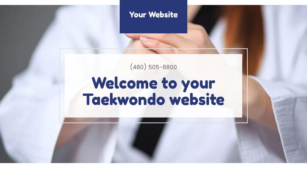 Taekwondo website templates godaddy taekwondo example 17 alramifo Choice Image