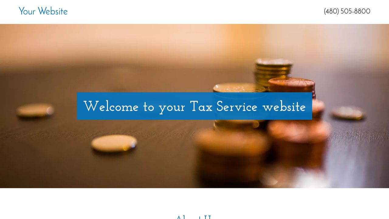 Tax Service Website: Example 10