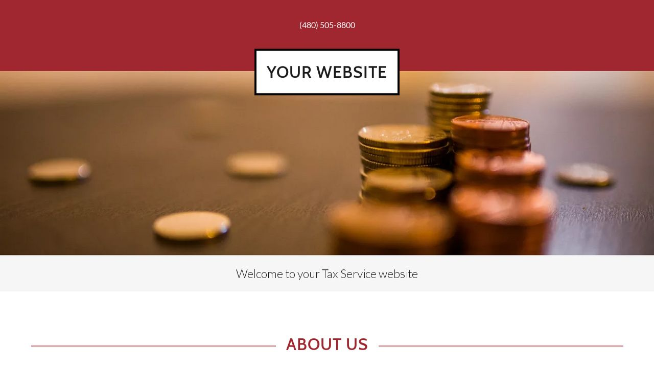 Tax Service Website: Example 15