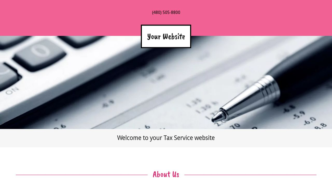 Tax Service Website: Example 8