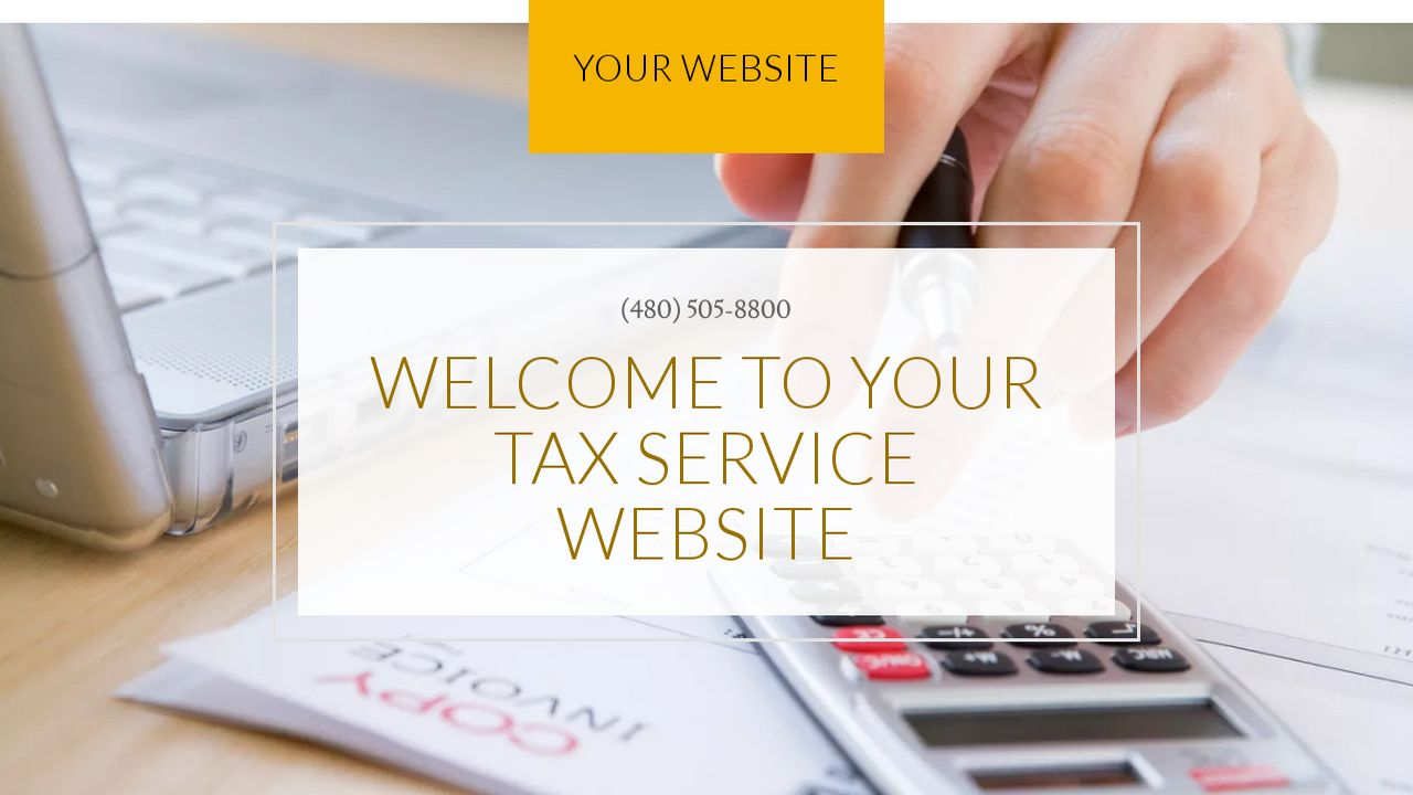 Tax Service Website: Example 9