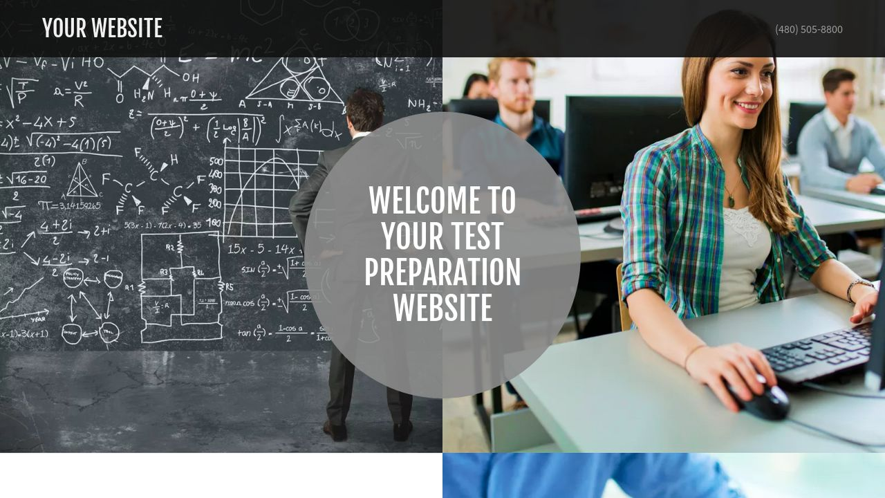 Test Preparation Website: Example 9