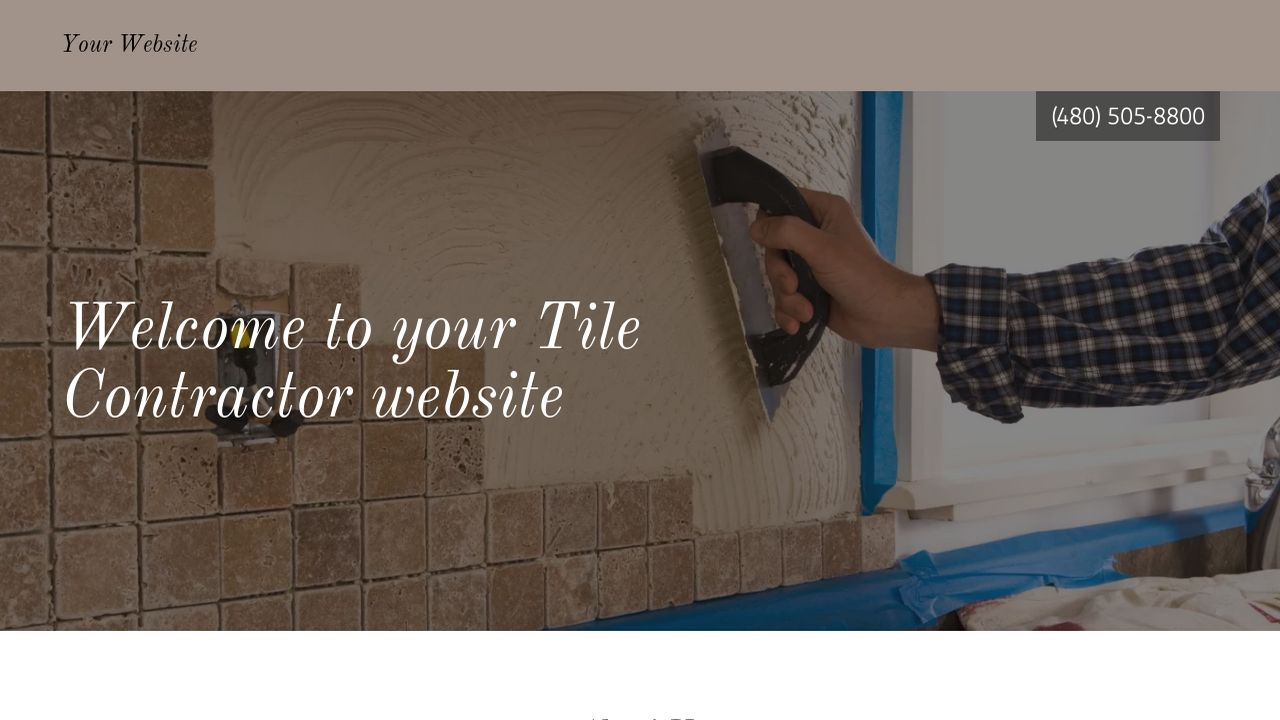 Tile contractor website templates godaddy tile contractor example 11 dailygadgetfo Choice Image