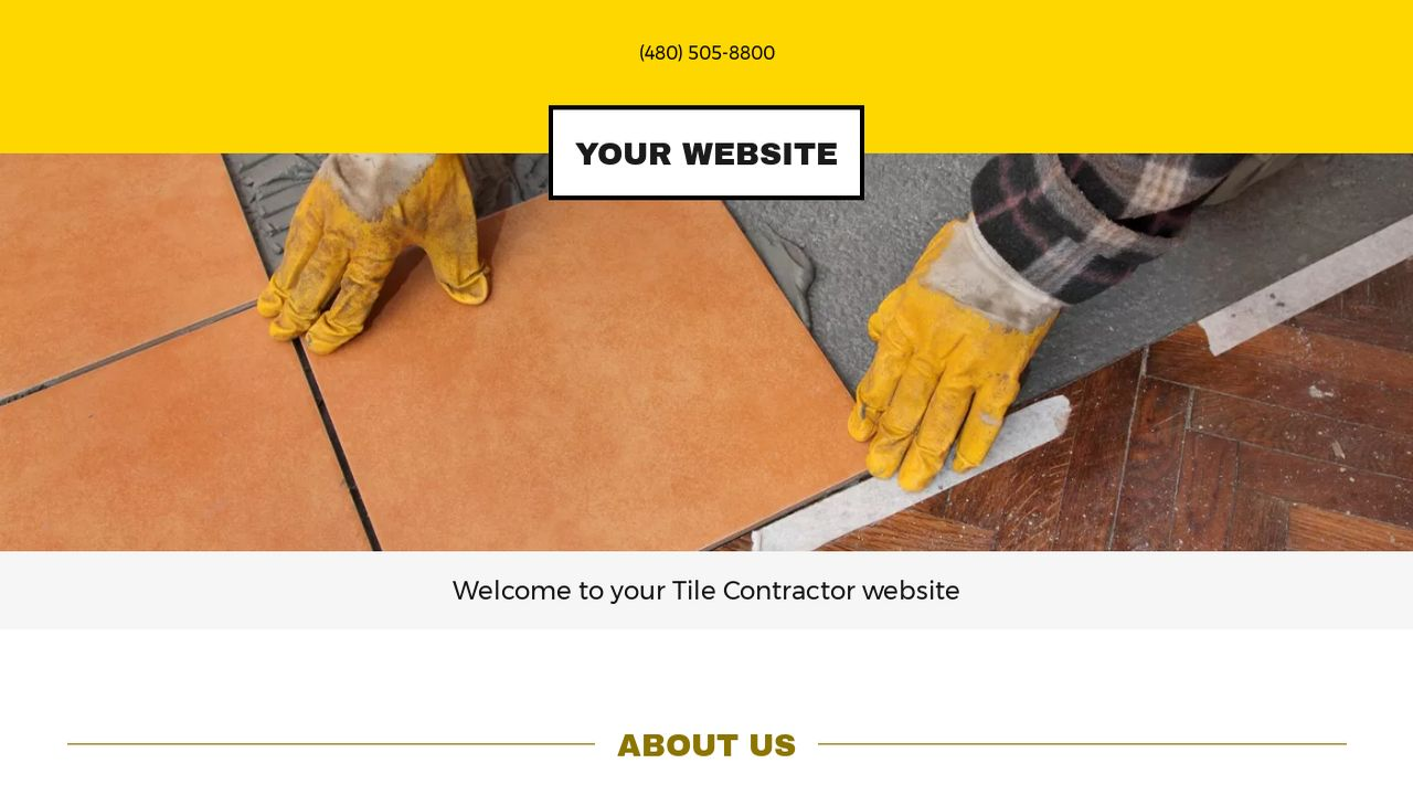 Tile contractor website templates godaddy tile contractor example 8 dailygadgetfo Choice Image