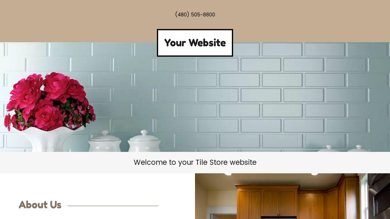 Tile Store Website Templates | GoDaddy